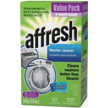 Affresh Pastillas limpiadoras de lavadoras (Cartón 5) W10549846